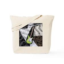 green-strat-ipad2-hard Tote Bag