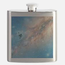 Voyager spacecraft Flask