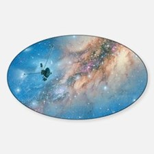 Voyager spacecraft Sticker (Oval)
