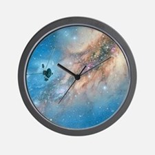 Voyager spacecraft Wall Clock
