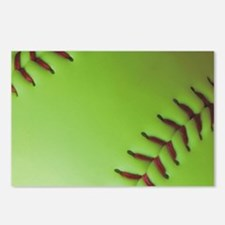 Optic yellow fastpitch so Postcards (Package of 8)