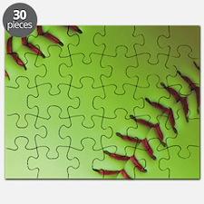Optic yellow fastpitch softball Puzzle