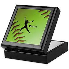 iPitch Fastpitch Softball (right hand Keepsake Box