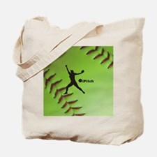 iPitch Fastpitch Softball (right handed) Tote Bag