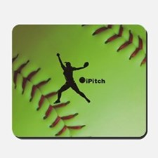 iPitch Fastpitch Softball (right handed) Mousepad