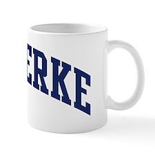 Shipperke (blue) Mug