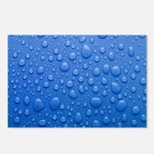 Water droplets Postcards (Package of 8)