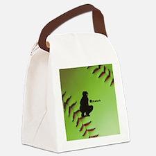 iCatch Fastpitch Softball Canvas Lunch Bag