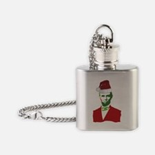 Merry Xmas, Abe! Flask Necklace