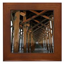 000-Pawleys Pier Framed Tile