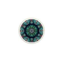Fractal Kaleidoscope 2 Mini Button