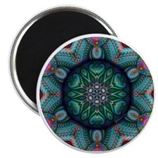 Fractal Kaleidoscope 2 Magnet