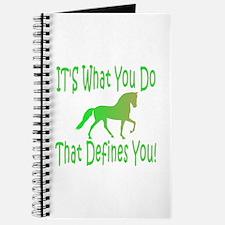 Racking Horse Defines Journal
