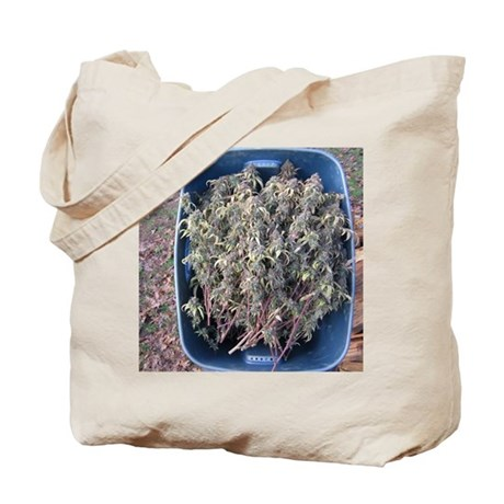 Cherry Cough Harvest Tote Bag