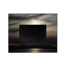 Grey Sunset Picture Frame
