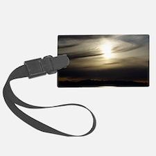 Grey Sunset Luggage Tag