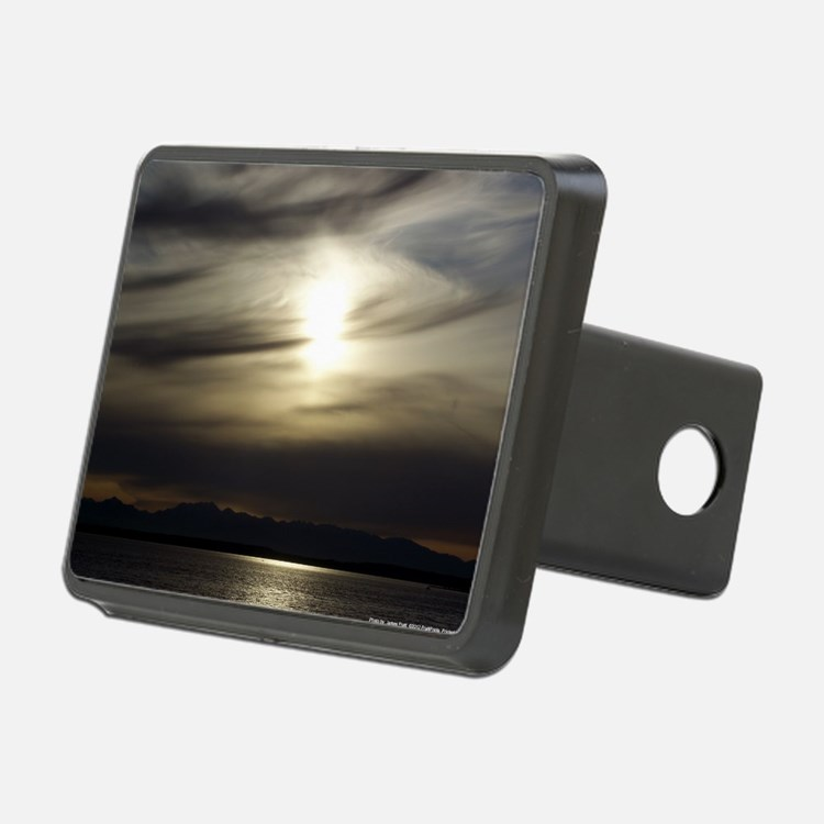 Grey Sunset Hitch Cover