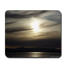 Grey Sunset Mousepad