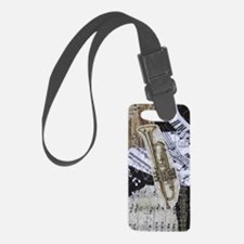 0375-charger-trumpet Luggage Tag