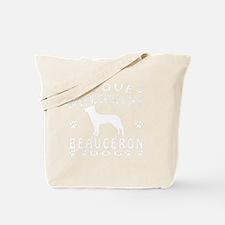 Beauceron designs Tote Bag