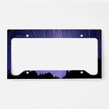 Star trails License Plate Holder