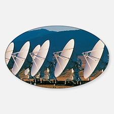 Very Large Array (VLA) radio antenn Decal
