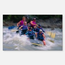 Whitewater rafting Decal