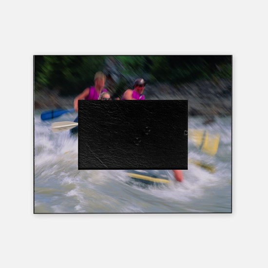 Whitewater rafting Picture Frame