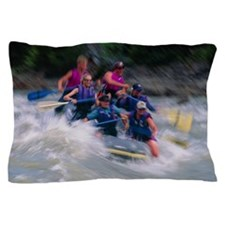 Whitewater rafting Pillow Case