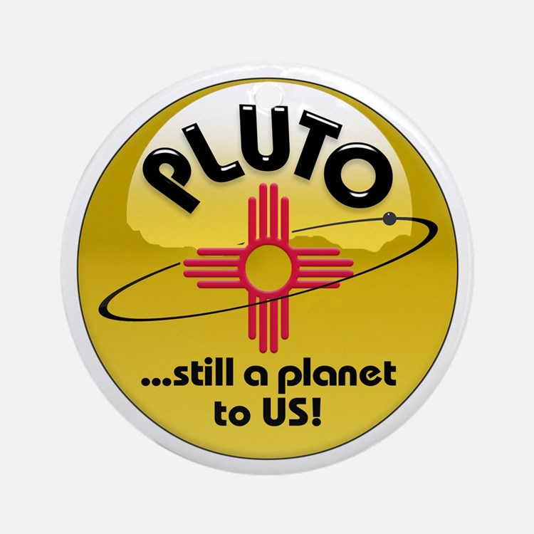 NM loves Pluto Ornament (Round)