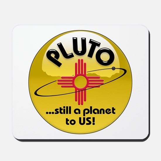 NM loves Pluto Mousepad