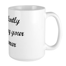 Correcting Your Grammar Mug