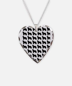 newf silhouette Necklace