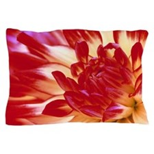 Dahlia flower Pillow Case