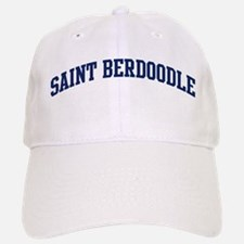 Saint Berdoodle (blue) Baseball Baseball Cap