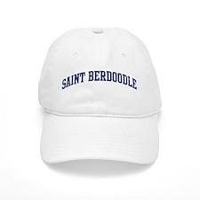 Saint Berdoodle (blue) Baseball Cap