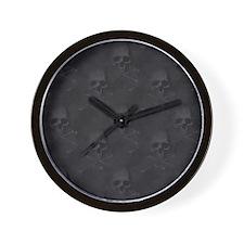 bd2_60_curtains_834_H_F Wall Clock