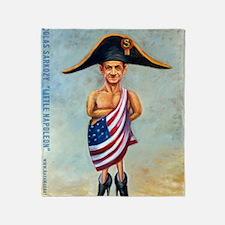 Nicolas Sarkozy: Little Napoleon Throw Blanket