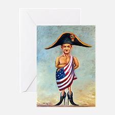 Nicolas Sarkozy: Little Napoleon (Po Greeting Card