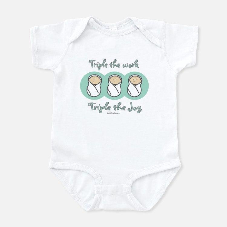 Triple the Joy Infant Bodysuit