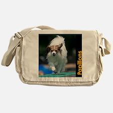 Papillon Agility Calendar Messenger Bag