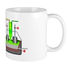 Aluminium production Mug