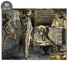 19th-century coal mining Puzzle