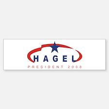 2008 Chuck Hagel (star) Bumper Bumper Bumper Sticker