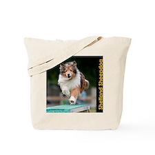 Shetland Sheepdog Agility Calendar Tote Bag