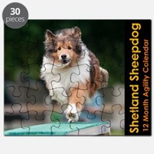 Shetland Sheepdog Agility Calendar Puzzle