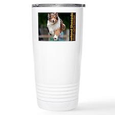 Shetland Sheepdog Agili Travel Mug