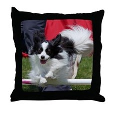 Papillon Surf Throw Pillow