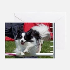 Papillon Surf Greeting Card