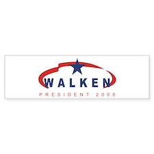 2008 Christopher Walken (star Bumper Car Sticker